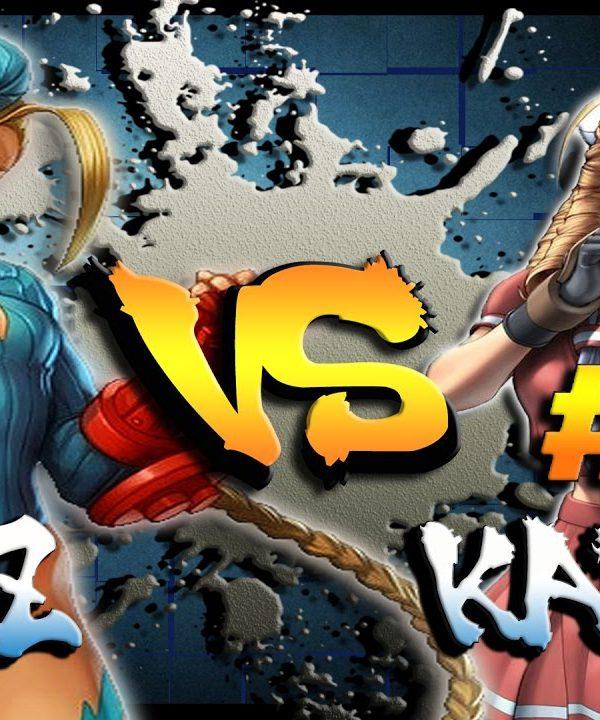 【スト5】SFV – Kazunoko ( Cammy ) Vs Afg Peace ( #1 Karin ) * Ranked Best of 3 * – SF5