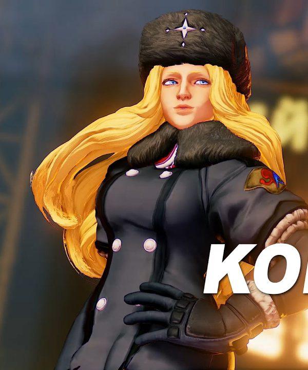 【スト5】SFV: Kolin[コーリン] Reveal Trailer