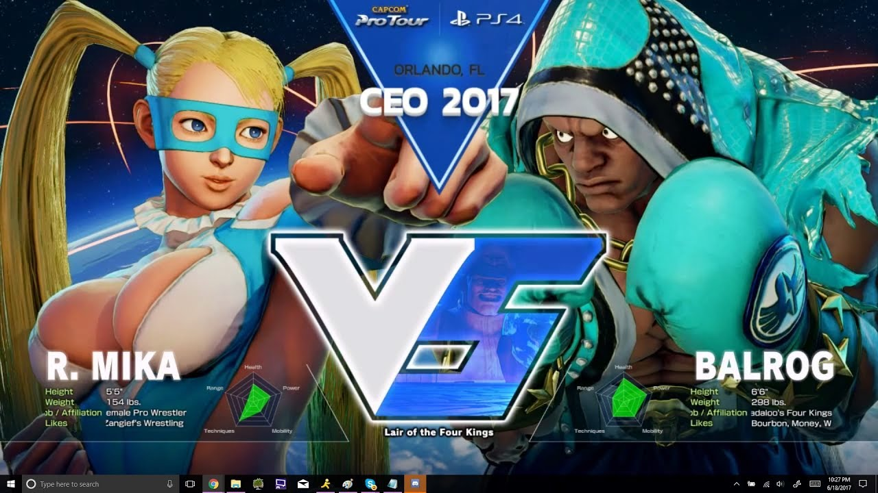 【スト5】SFV: Liquid` NuckleDu vs PIE Smug – CEO 2017 Top 8 – CPT 2017