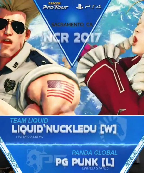 【スト5】SFV: Liquid'NuckleDu vs PG Punk – NCR 2017 Grand Finals – CPT 2017