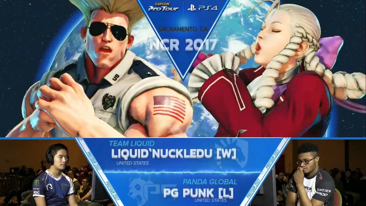 【スト5】SFV: Liquid'NuckleDu vs PG Punk – NCR 2017 Grand Finals – CPT 2017