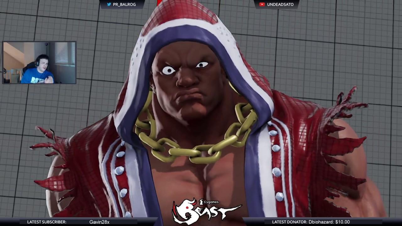 【スト5】SFV match making = DBZ fighter 5 ;_; Twitch.tv stream 5/7/2017