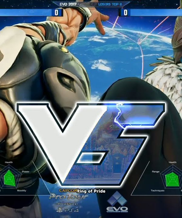 【スト5】SFV: Moke vs GRPT MOV – EVO 2017 Top 8 – CPT2017
