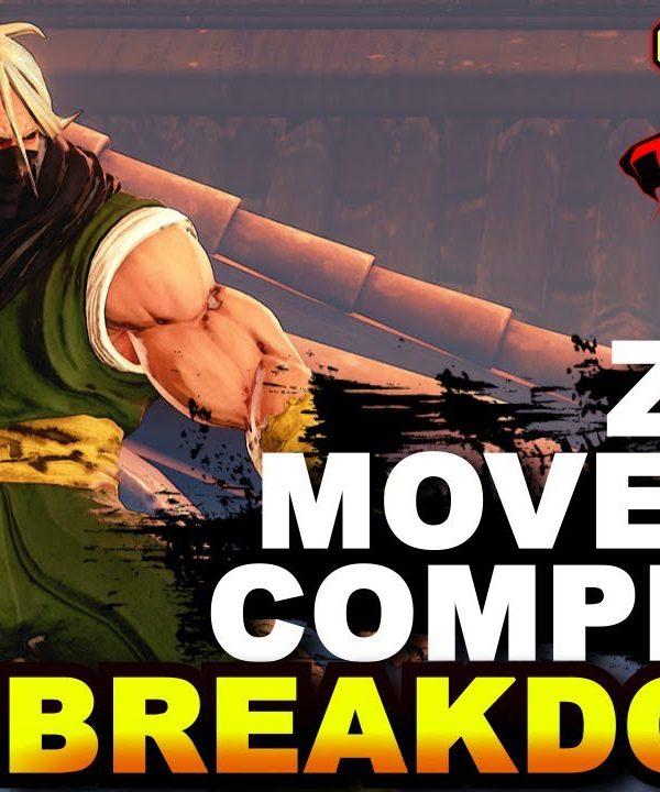 【スト5】SFV * Old & Young Zeku Movelist / Complete Breakdown
