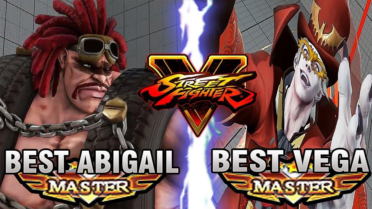 【スト5】SFV – Poongko (Abigail) Vs Tourniquet (Vega) – Ranked Matches