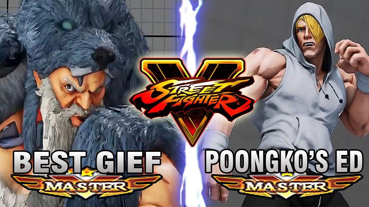 【スト5】SFV – Poongko (ED) Vs Itazan (Zangief) – Ranked Matches