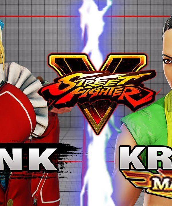 【スト5】SFV – Punk (Karin) Vs Wolfkrone (Laura) – Ranked Matches