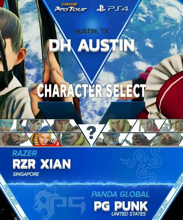 【スト5】SFV: RZR Xian vs PG Punk – Dreamhack Austin 2017 Losers Finals – CPT2017
