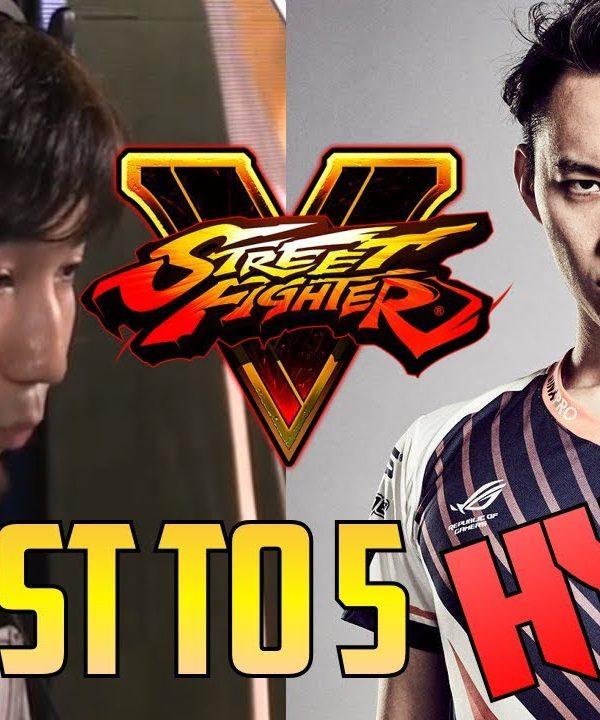 【スト5】SFV S2.5 ▰ Daigo Vs Tokido【First To 5 Runback】