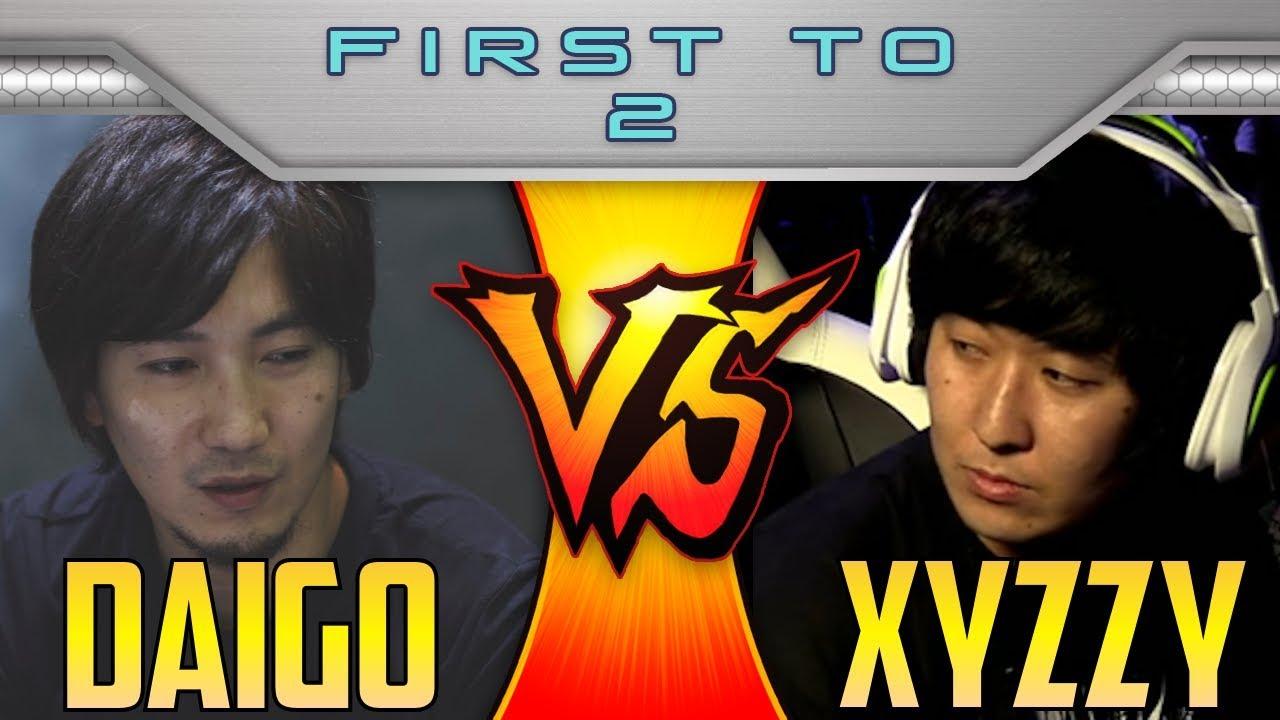 【スト5】SFV S2.5 ▰ Daigo Vs XYZZY【Quick Explosive Set】