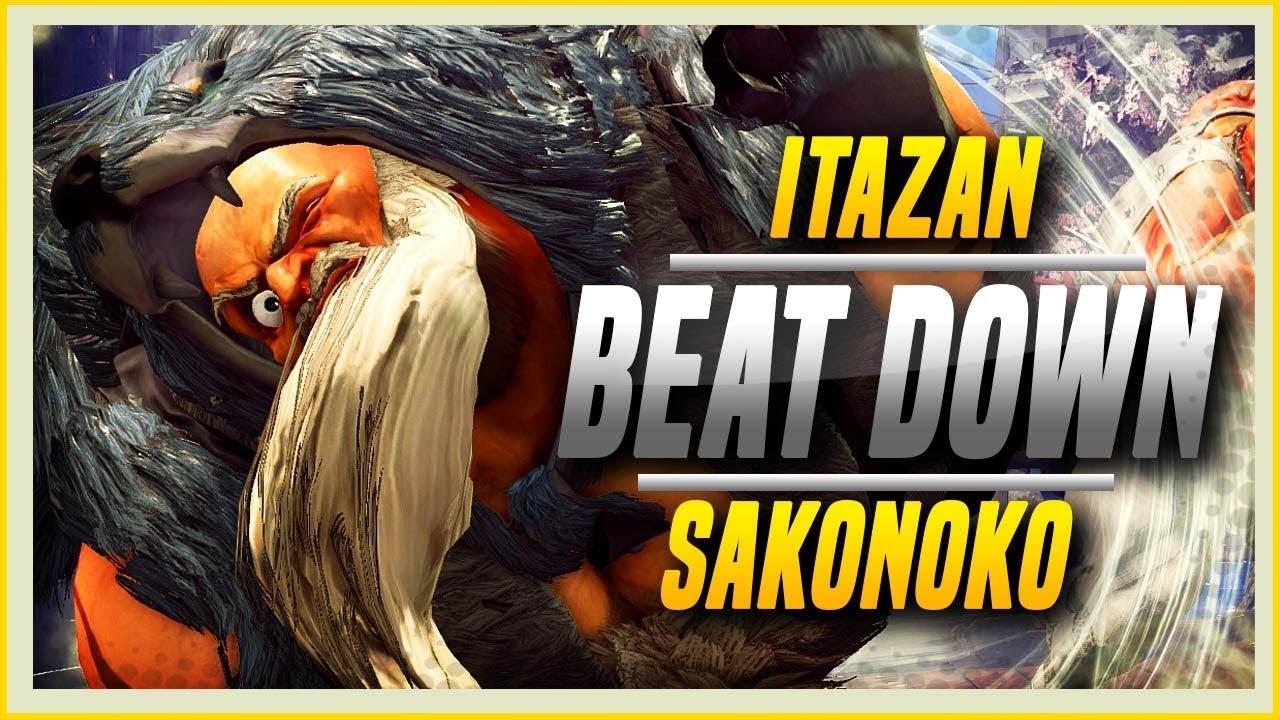 【スト5】SFV S2.5 ➤ Sakonoko Vs Itazan! It's That Simple.