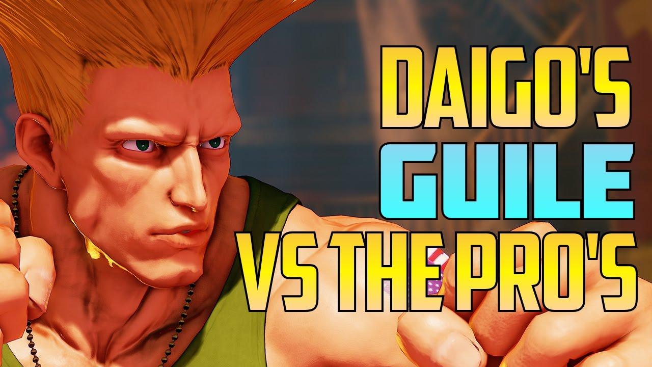 【スト5】SFV S2 ▰ Daigo's Guile Vs The Pro's【Ft. Kazunoko, Nemo, John T & Gachikun】Street Fighter V / 5