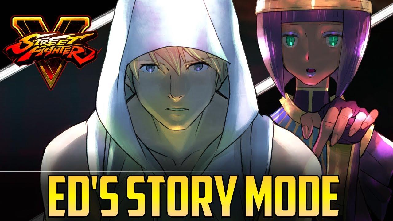 【スト5】SFV S2 ▰ Ed's Story Mode Cutscenes