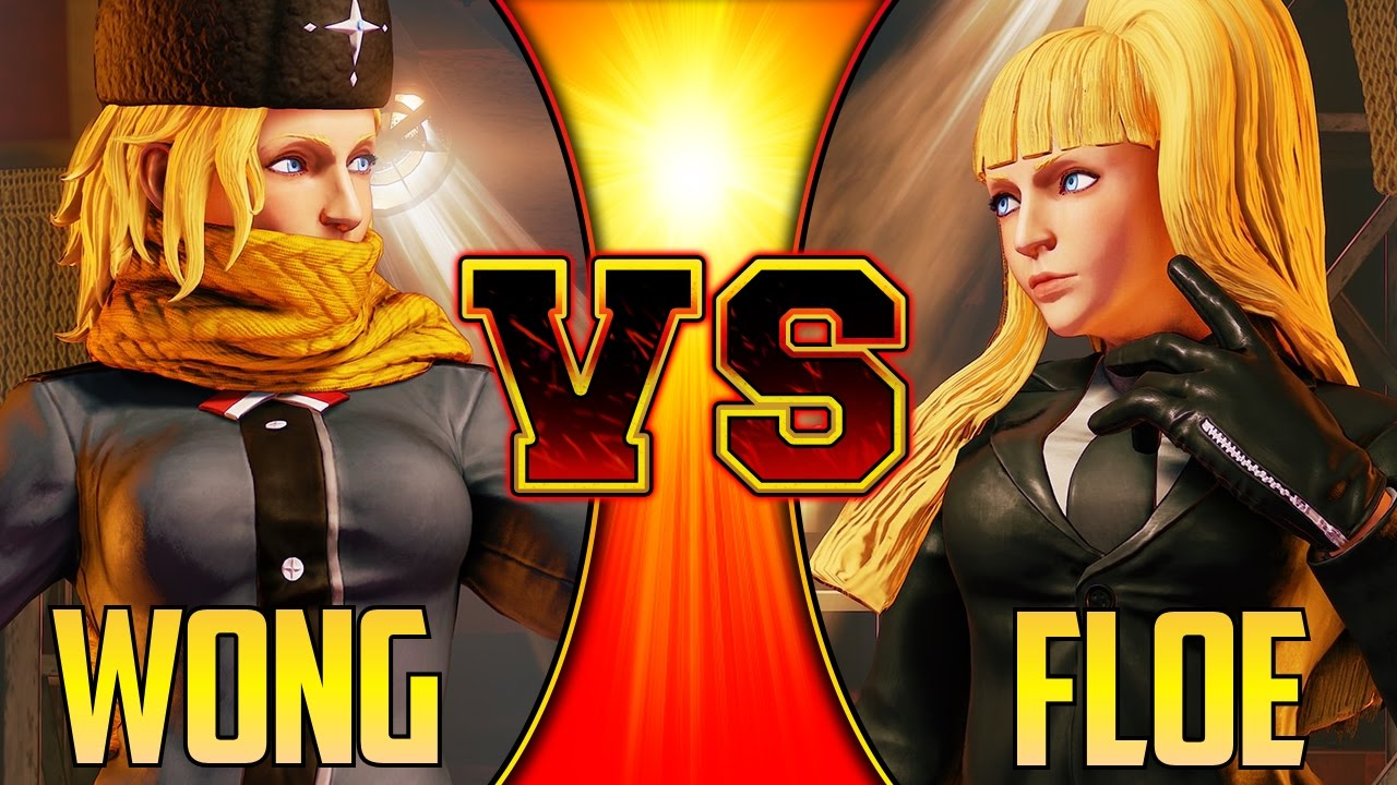 【スト5】SFV S2 ▰ Justin Wong Vs Floe【Kolin Mirror Match】Street Fighter V / 5 スト