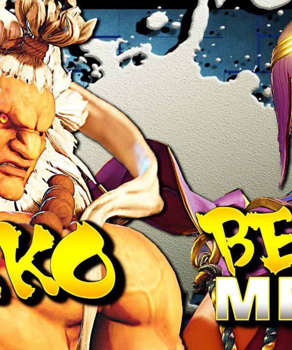 【スト5】SFV – Sako Akuma Vs AMAZING Master Ranked Menat (Karubisagari) – SF5