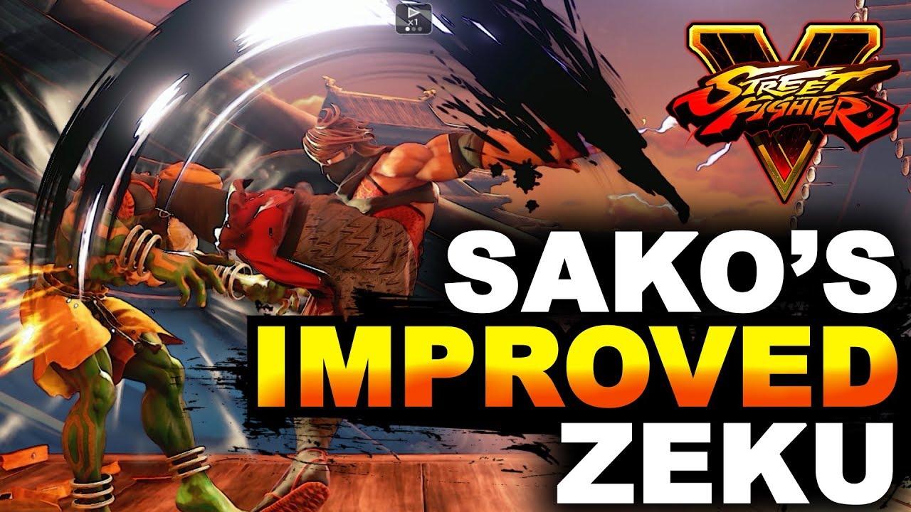 【スト5】SFV * Sako's Improved Zeku VS A Master Dhalsim / FT3