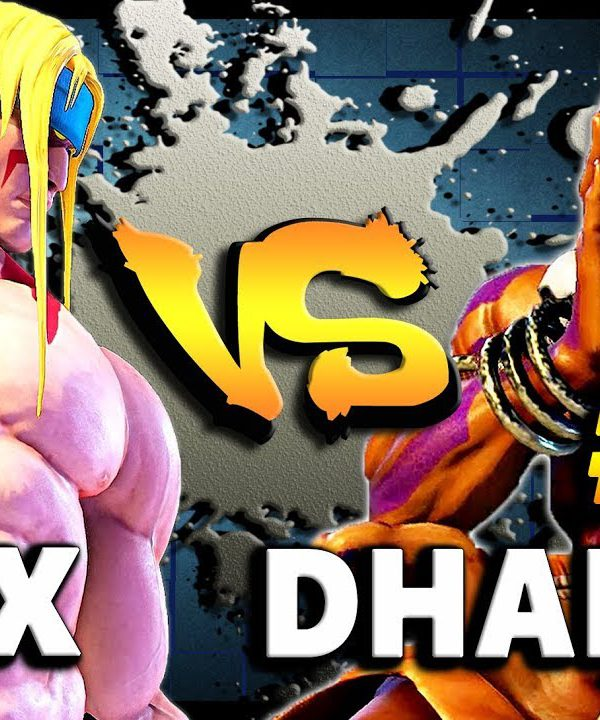 【スト5】SFV – The #1 Alex ( Gunfight ) Vs The #1 Dhalsim ( YHCMochi ) * Intense First To 5 * – SF5