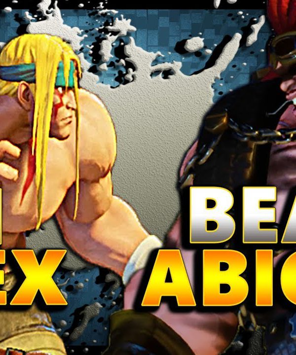 【スト5】SFV – The BEST Alex Vs The Beastliest Abigail | EPIC RunBack -FT5- SF5