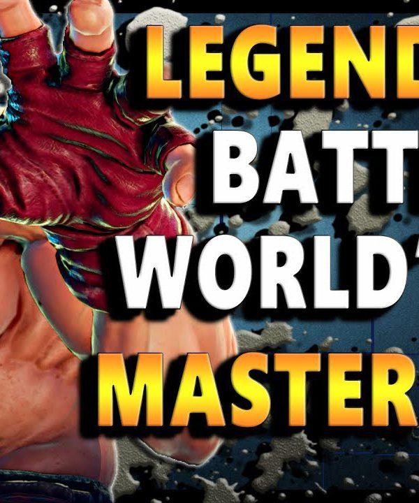 【スト5】SFV – The Legendary Match For World's First Master Alex | Season 2.5 – SF5