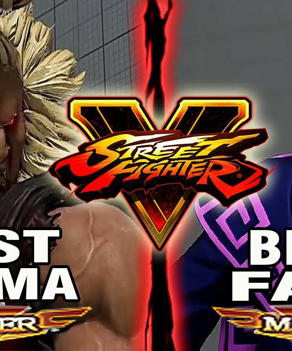 【スト5】SFV – Tokido (Akuma) Vs Dusk Aims (Fang) – Ranked Matches