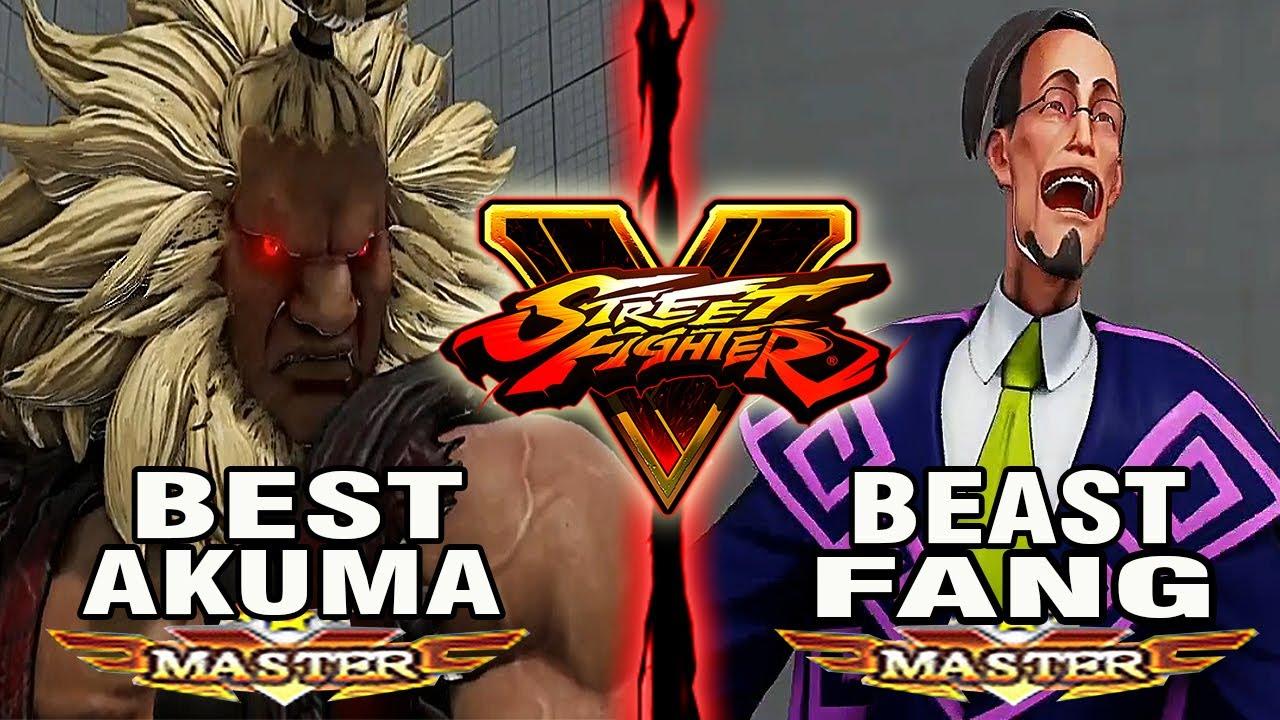 【スト5】SFV – Tokido (Akuma) Vs Dusk Aims (Fang) – Ranked Matches