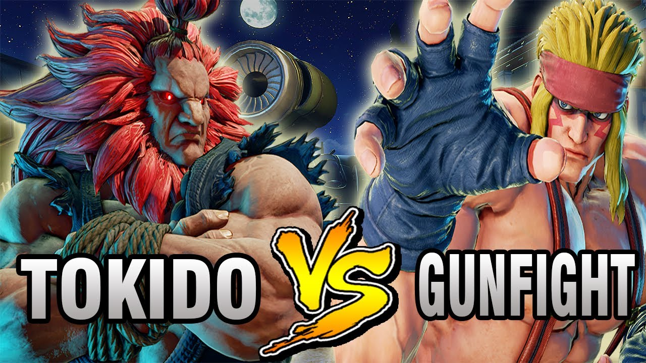 【スト5】SFV – Tokido (Akuma) Vs GunFight (Alex) – Ranked Matches