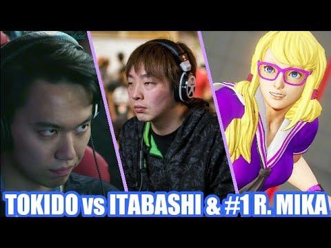【スト5】SFV TOKIDO Akuma vs ITABASHI Zangief and #1 R. MIKA | Ranked Matches July 2017