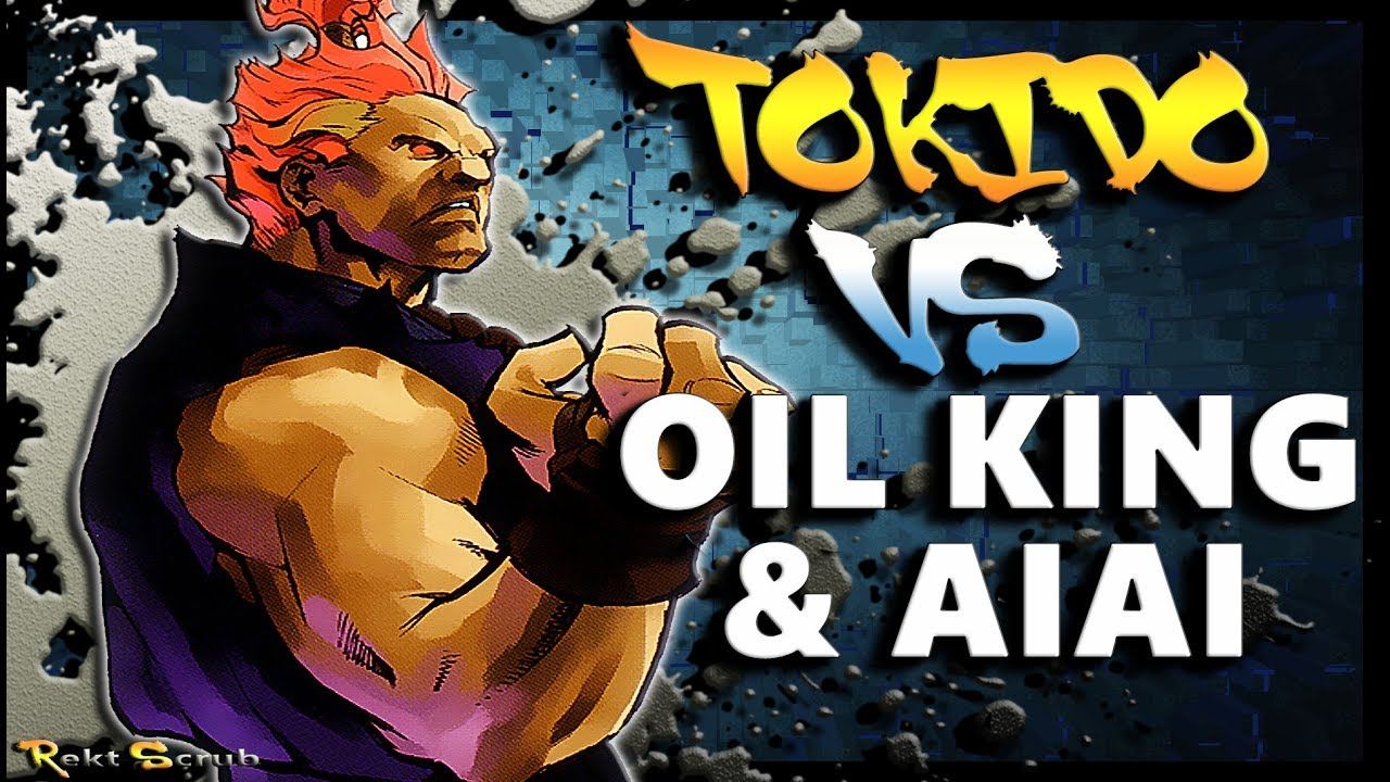 【スト5】SFV – Tokido ( Akuma ) Vs Oil King & Aiai ( Rashid / Juri ) * Dem Demons * – SF5