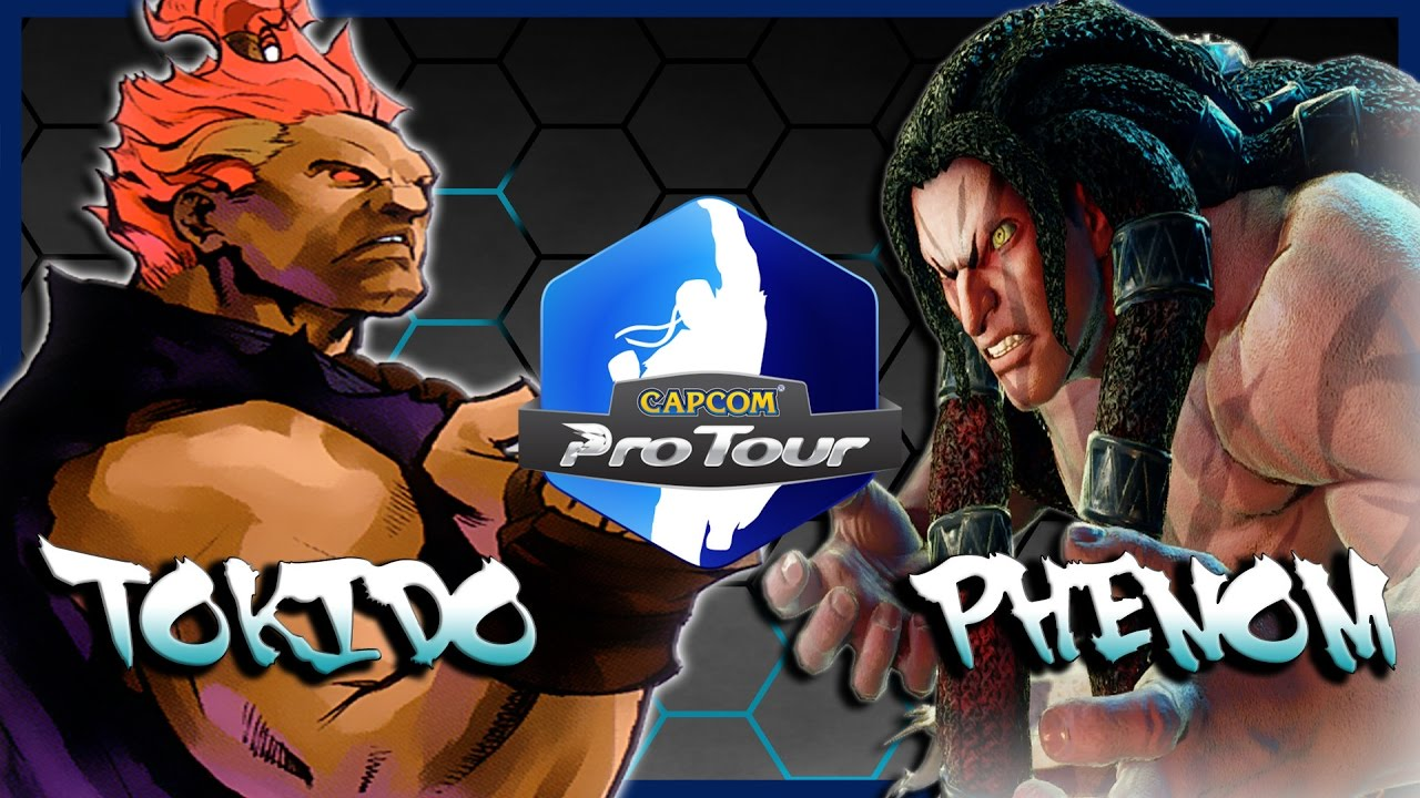 【スト5】SFV – Tokido ( Akuma ) Vs Phenom ( Necalli ) * CPT UFA * Hype Match *- SF5