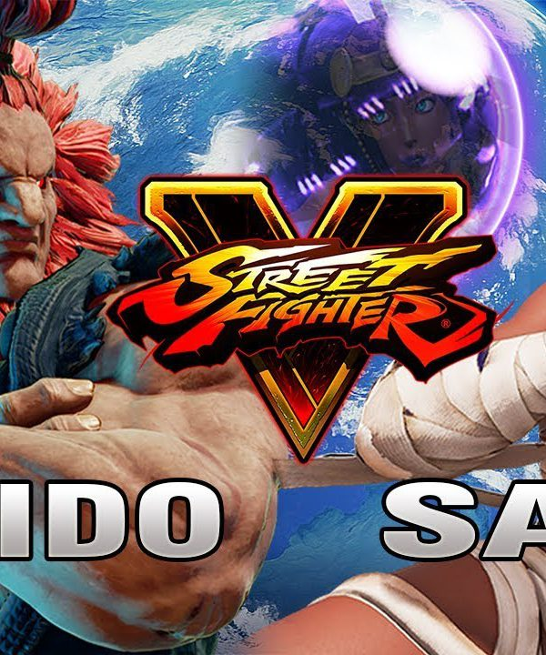 【スト5】SFV – Tokido (Akuma) Vs Sako (Menat) – Ranked Matches