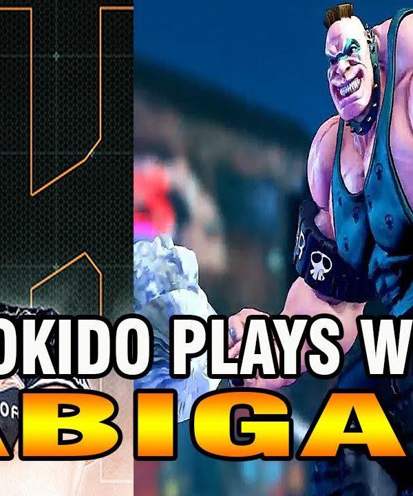 【スト5】SFV – Tokido plays with ABIGAIL
