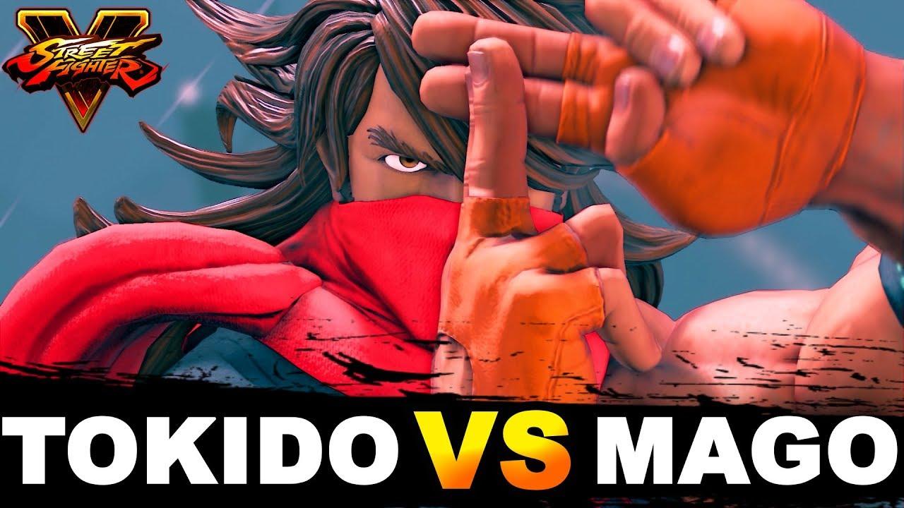 【スト5】SFV * Tokido VS Mago / Zeku Mirror FT2 Set