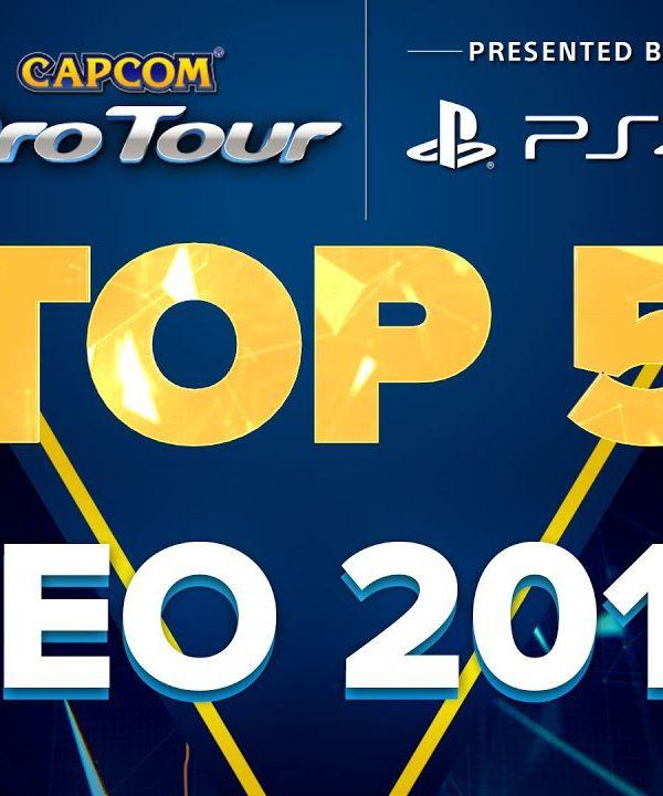 【スト5】SFV: TOP 5 MOMENTS – CEO 2017 – CPT 2017
