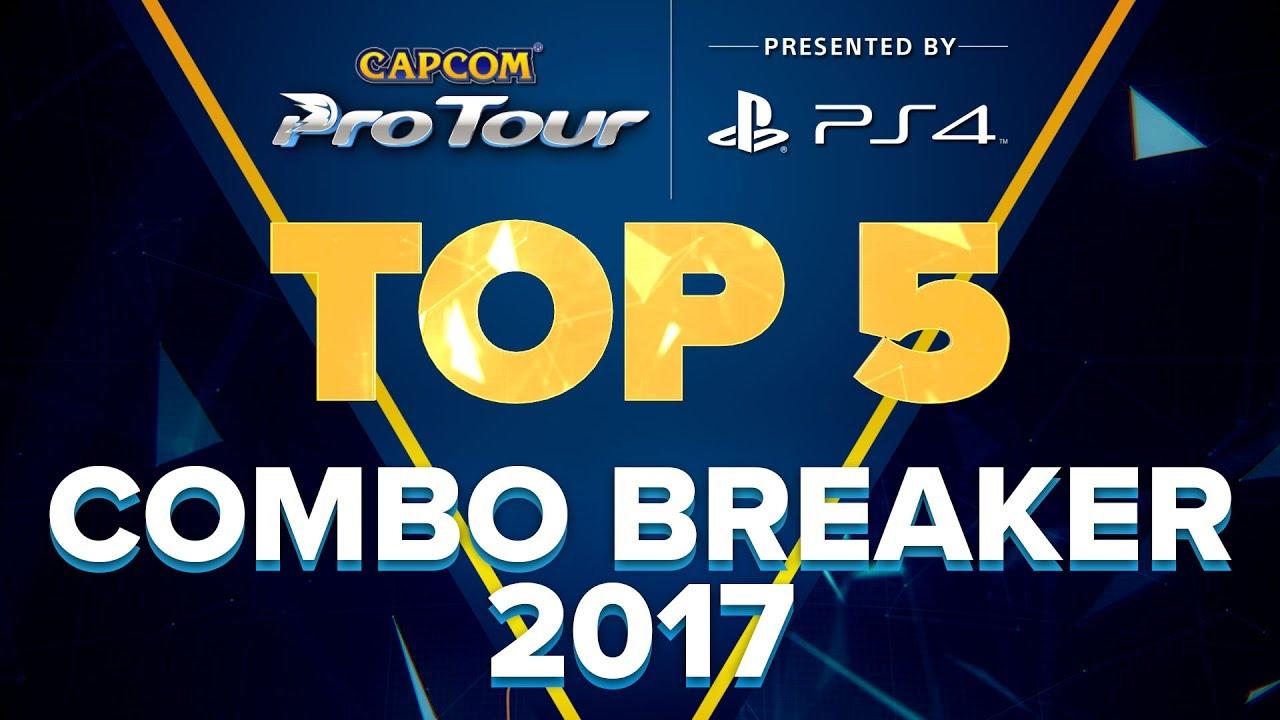 【スト5】SFV: TOP 5 MOMENTS – COMBO BREAKER 2017 – CPT 2017