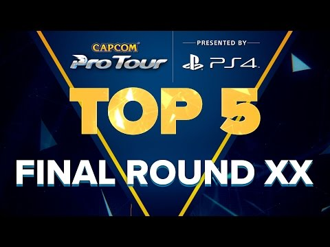 【スト5】SFV: TOP 5 MOMENTS – FINAL ROUND XX – CPT 2017