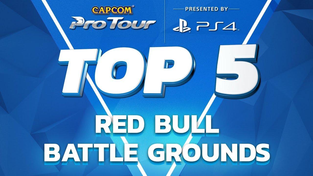 【スト5】SFV: TOP 5 MOMENTS – RED BULL BATTLE GROUNDS – NA REGIONAL FINALS – CPT 2017