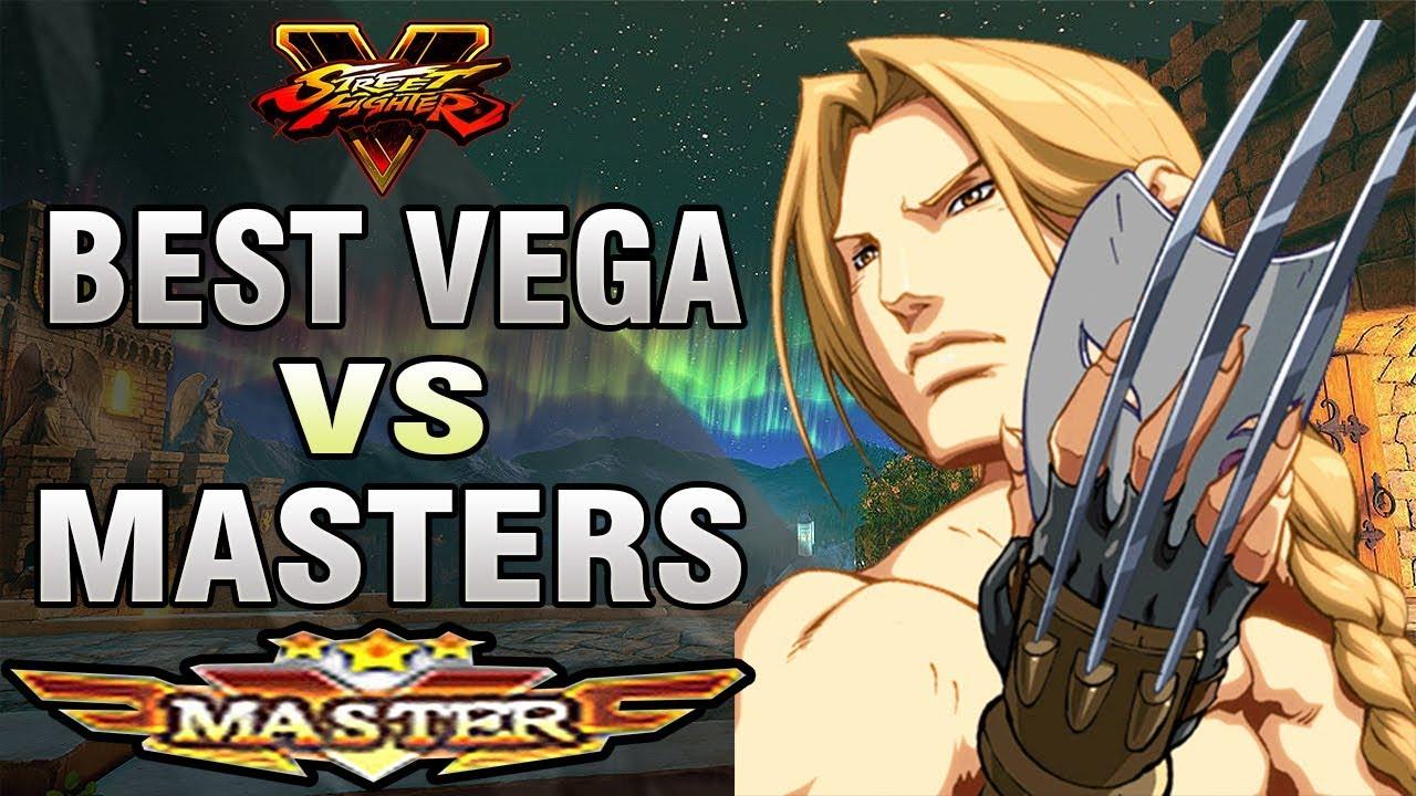 【スト5】SFV – Tourniquet (Vega) Vs Masters