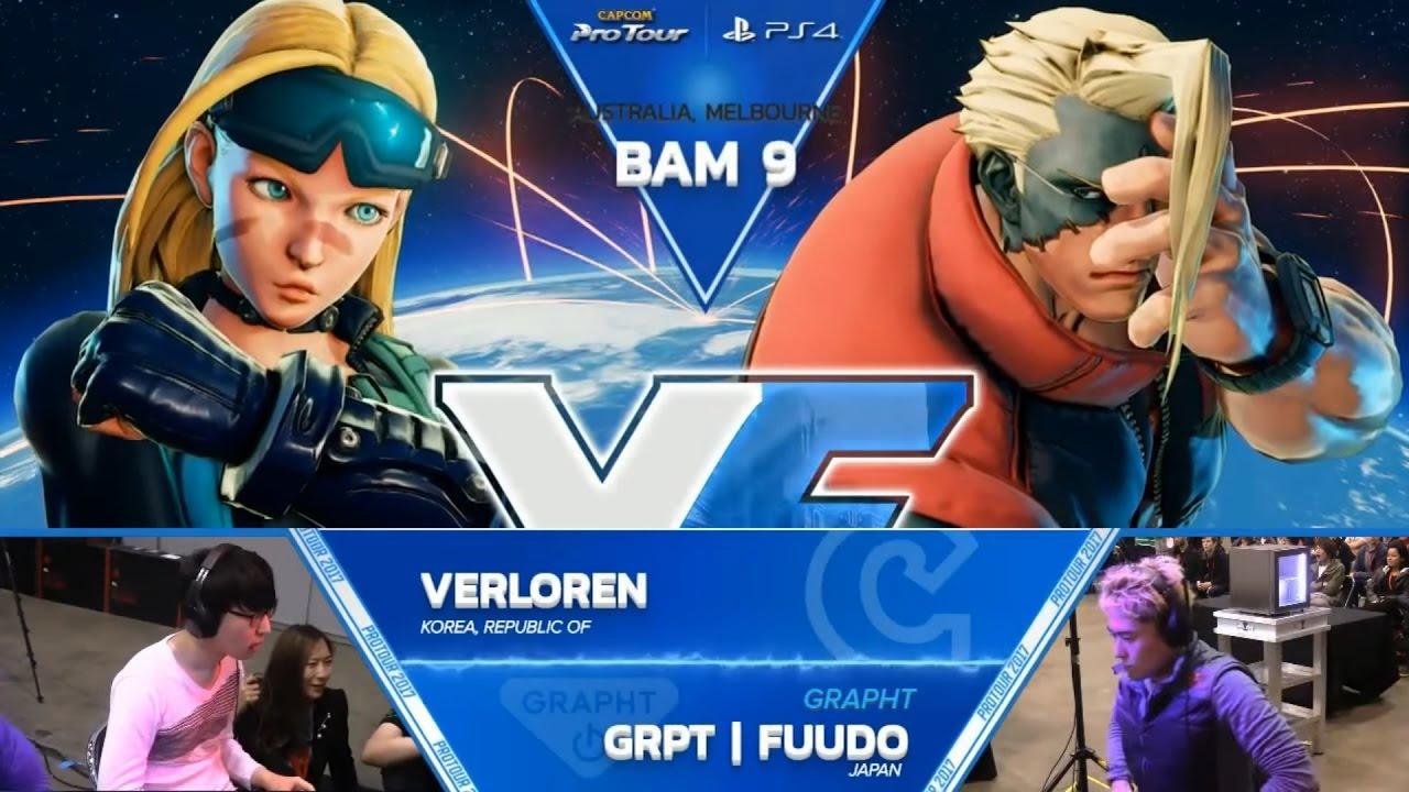 【スト5】SFV: Verloren vs. RB | Bonchan – Battle Arena Melbourne 9 Grand Finals- CPT 2017
