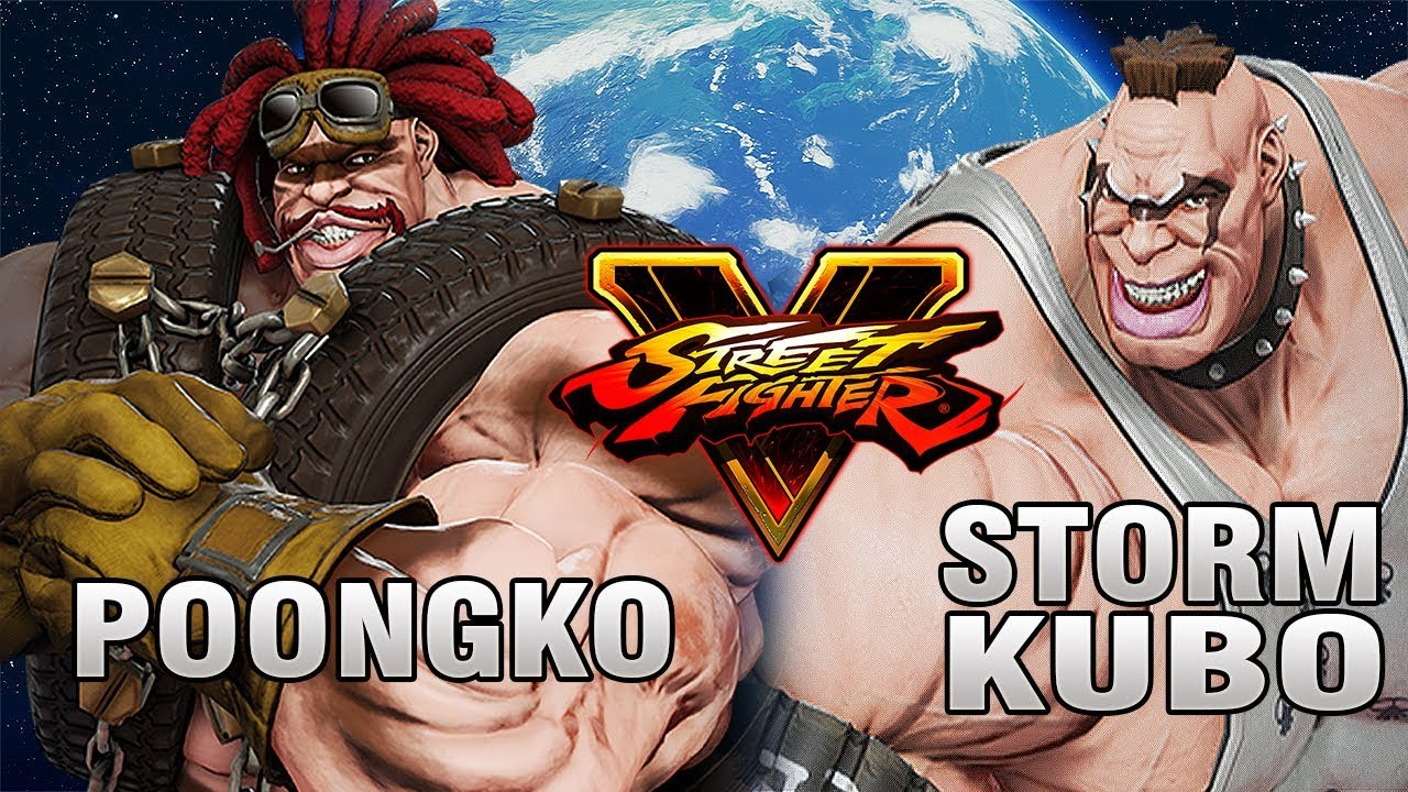 【スト5】SFV – Who is the best ? – Poongko (Abigail) Vs StormKubo (Abigail)