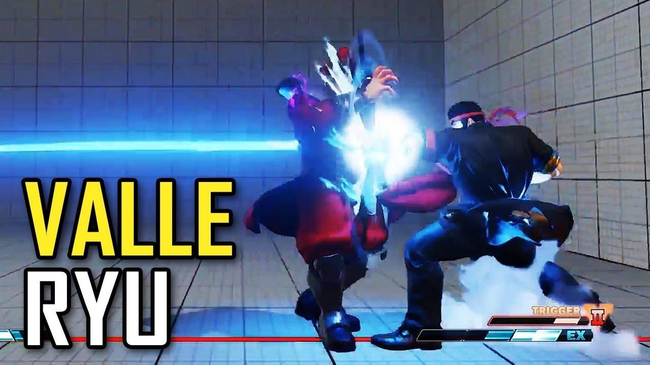 【スト5】SFVAE – Alex Valle (Ryu) with V-Trigger 2