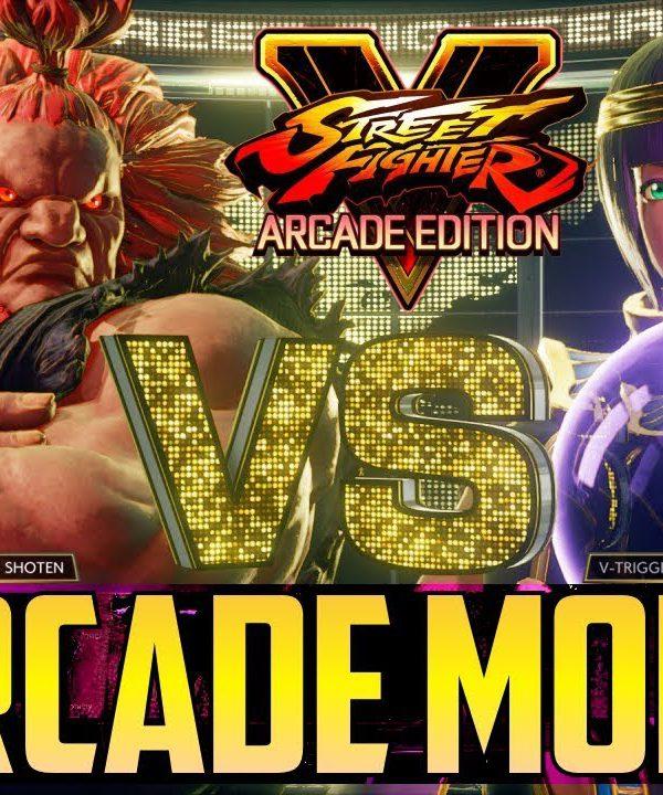 【スト5】SFVAE ▰ Arcade Mode Preview【Compilation Of New V-Triggers】