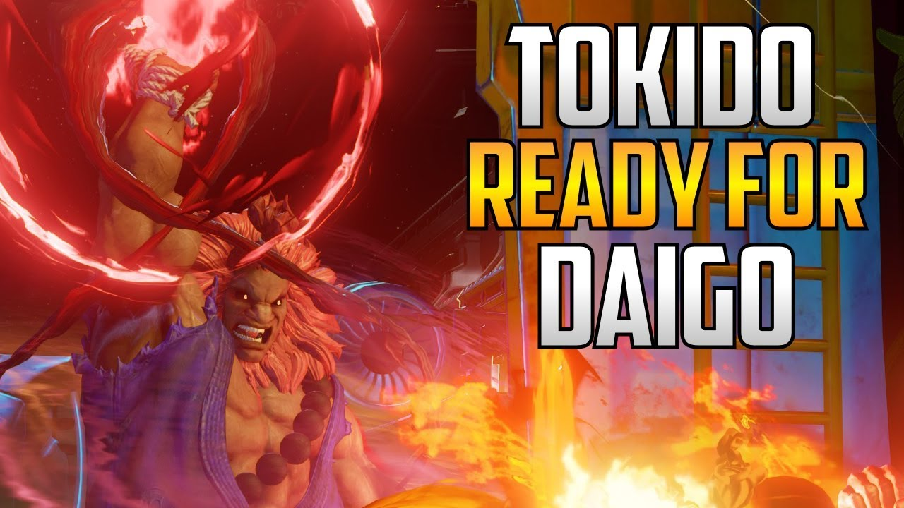 【スト5】SFVAE ▰ Tokido Training Hard For The Daigo Exhibition