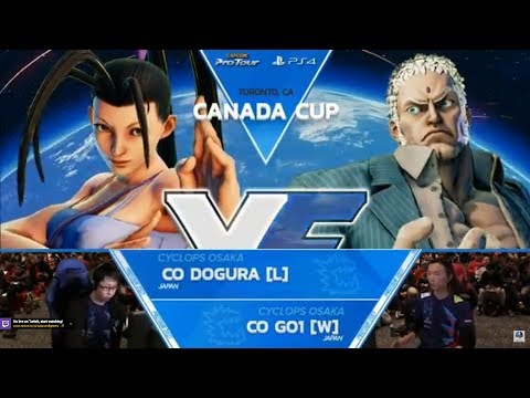 【スト5】SFV:CO | GO1 vs CO | Dogura GF Canada Cup 2017 Top 8 – CPT2017