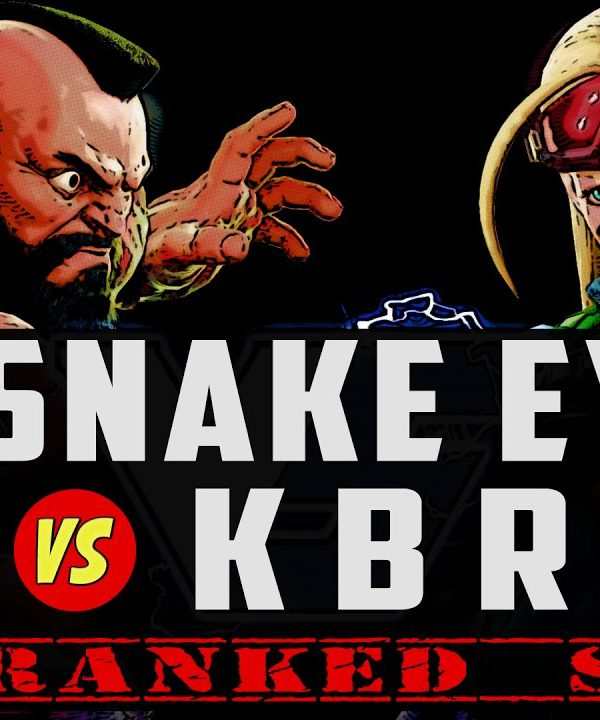 【スト5】Snake Eyez vs KBrad's Cammy ► Ranked ► 03.06.17