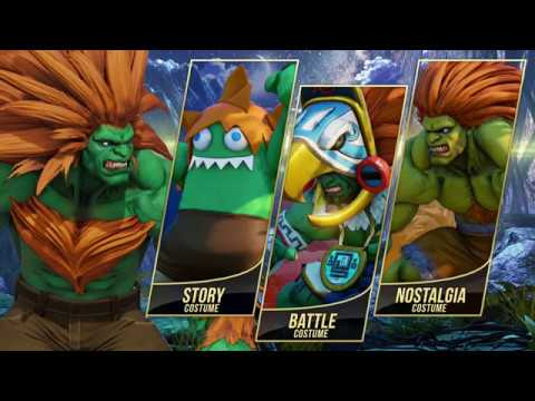 【スト5】Street Fighter V: Arcade Edition – Blanka Gameplay Trailer