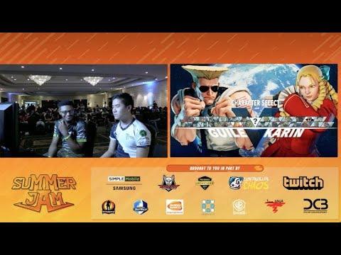 【スト5】【Summer Jam XI】[ Grand Final ] NuckleDu(ガイル・バーディー)vs Punk(かりん・ナッシュ)
