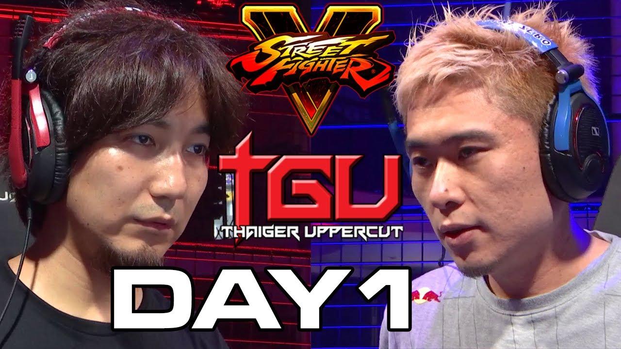 【スト5】THAIGER UPPERCUT 2017 SFV DAY 1 (TIMESTAMP) Daigo Bonchan Sako Tokido RB XiaoHai Xian GamerBee Marn