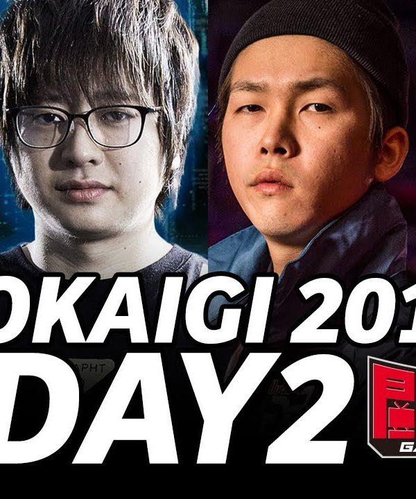 【スト5】TOKAIGI 2018 SFV AE DAY2 (TIMESTAMP) Tokido Fuudo Bonchan Gachikun Mago Kichipamu MOV GO1 Haitani