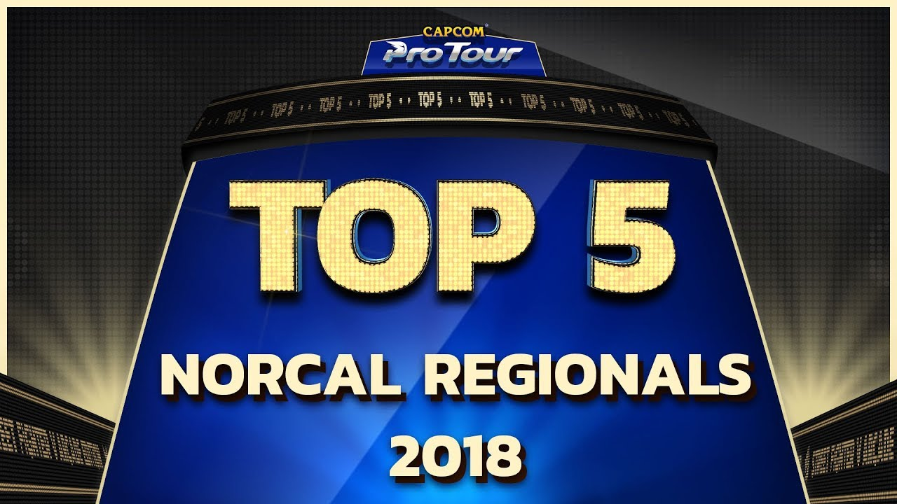 【スト5】TOP 5 MOMENTS: NORCAL REGIONALS 2018 – CPT 2018