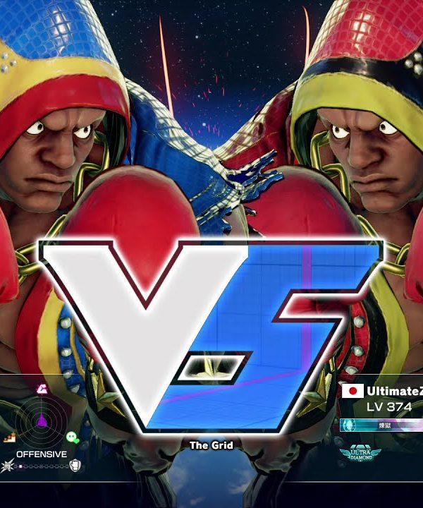 【スト5】いわて(バイソン)vs ヴァナヲ(バイソン)